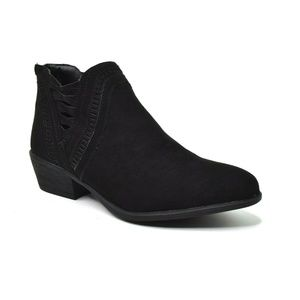 Bamboo Womens Sadie Ankle Boot Size 8.5 New